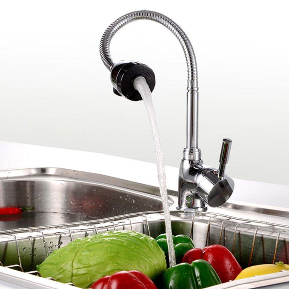 360 درجة تدوير بالوعة المطبخ حوض صنبور الدورية صنبور منفذ الساخنة Cold نمط النحاس دون خرطوم