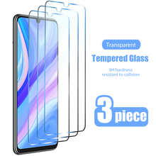 3pcs Protective Glass for Huawei P Smart 2019 2021 Z S Pro Plus Screen Protector for Huawei Y7 Y9 Y5 Y6 2018 2019 Y9S Y8S glass