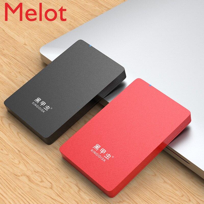 500G قرص صلب المحمول USB3.0 كبيرة قدرة 2T 1 تيرا بايت