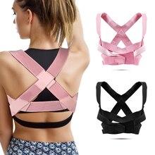 Adjustable Posture Correction with Posture Corrector Back Support Belt, Shoulder Lumbar Support Pain
