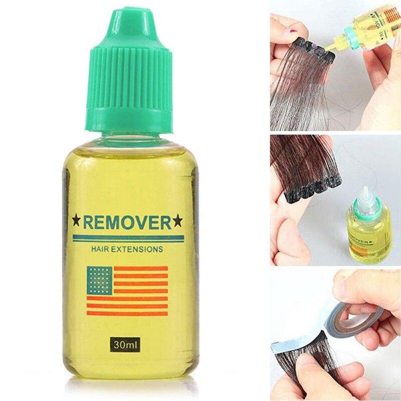 Peluca quitar pegamento sin rastro eliminación de cabello Nano-cross adhesivo de fusión en caliente depilación hoja de extensión de cabello pegamento de descarga p1
