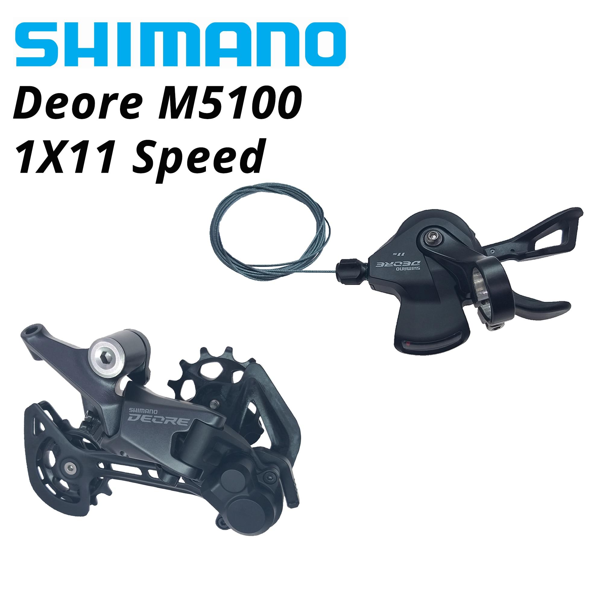 SHIMANO-SL-M5100 DEORE M5100 11s 11V 51T para bicicleta, RD-M5100