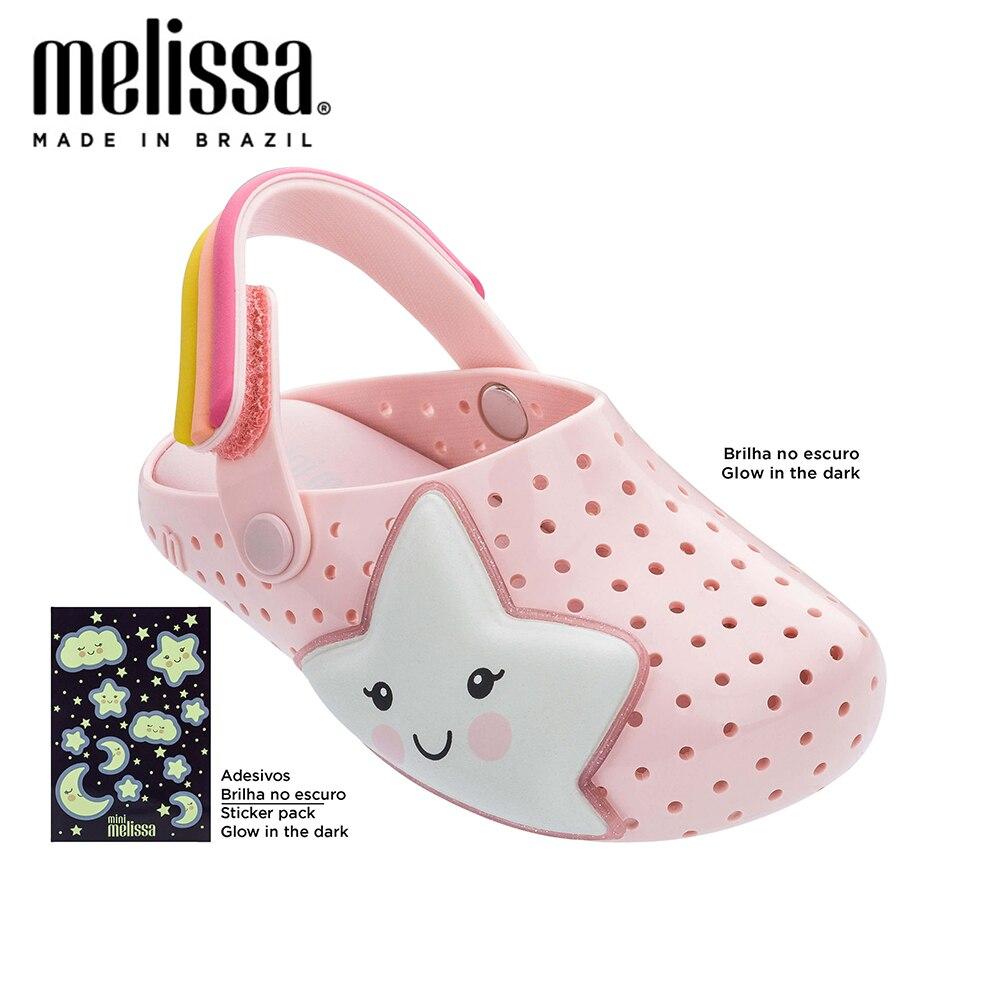 Mini Melissa Star Rocket Boys Sweet Dreams Girl Jelly Shoes Noctilucent Sandals 2020 Baby Shoes Melissa Sandals Kids Princess