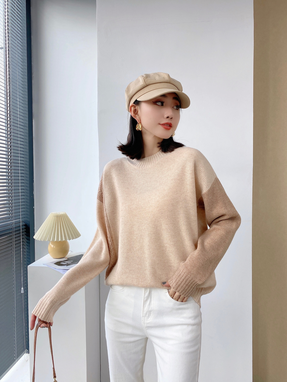 Sanofi Cashmere Sweater New Fashion Women Knit Turtleneck New Design Bright color Warm and Soft enlarge
