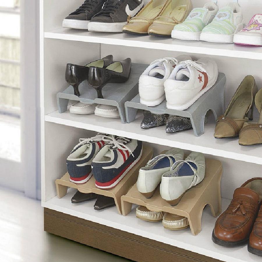 53 estantes dobles gruesos para zapatos estante moderno para limpieza de zapatos estante para sala de estar práctico caja de zapatos organizador estante de soporte