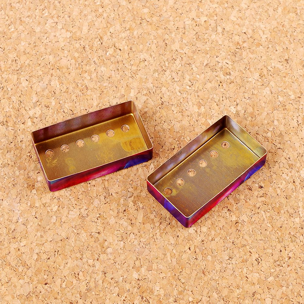 Guitar Humbucker Cover Guitar Pickup Brass Cover Mounting Ring for Electric Guitars Neck Bridge 50/52mm Guitar Parts Accessories enlarge
