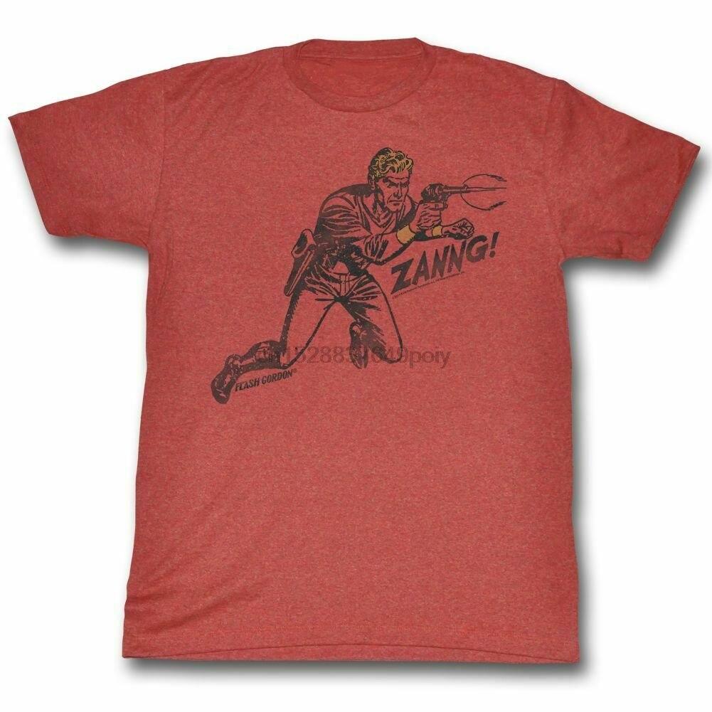 Camiseta de Flash Gordon Zanng Red brezo