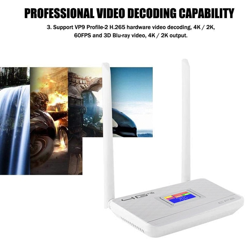 3G 4G LTE Wifi Router 150Mbps Portable Hotspot Unlocked Wireless CPE Router with Sim Card Slot WAN/LAN Port enlarge