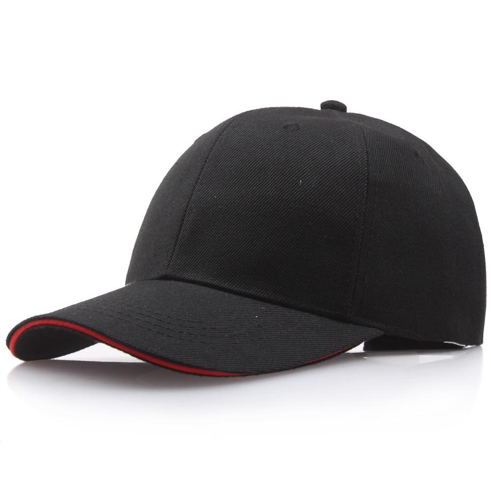 Бейсболка для мужчин и женщин, однотонная Кепка-Снэпбэк, модная шапка