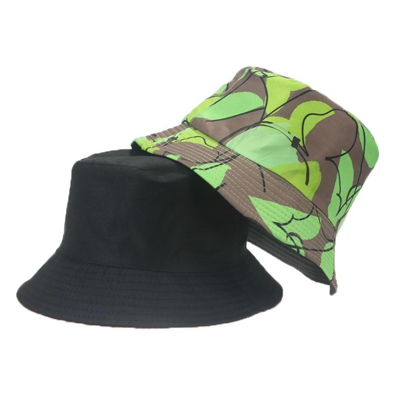 панама панама женская панама мужская кепка шляпа женская Панама женская двусторонняя с принтом, хлопковая Панама с плоским верхом, декорир...