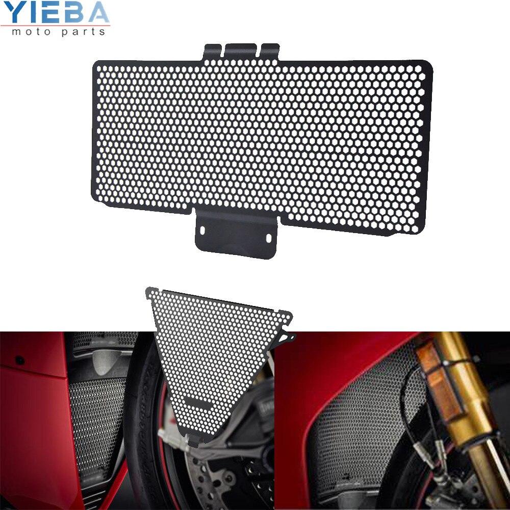 Motocicletas acessórios para ducati panigale 959 2016 2017 2018 2019 1299r 2017-2019 1299s 15-17 superior e inferior radiador guarda