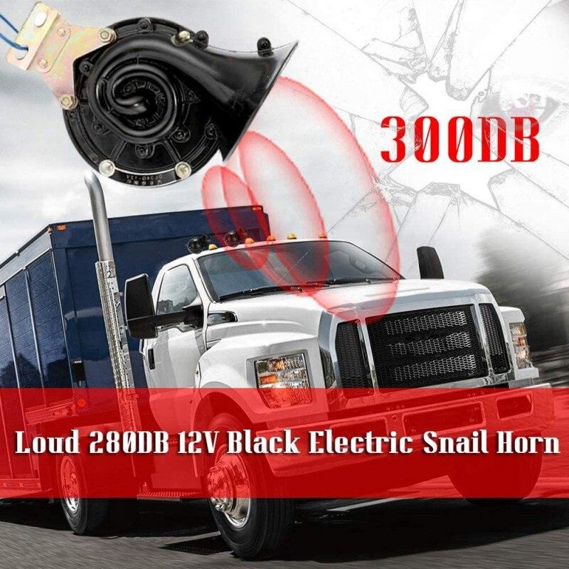 300DB سوبر الصاخبة الأحمر ستة البوق التحكم الإلكتروني سيارة الهواء القرن مع ضاغط للسيارات شاحنات قوارب الدراجات النارية