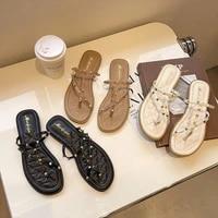 summer women flip flop rome sandals high heels shoes sexy party ladies rivets sandals buckle strap clear shoes