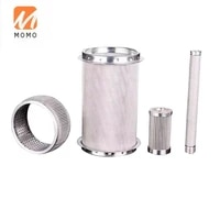 high efficiency stainless steel filter used for textile equipment