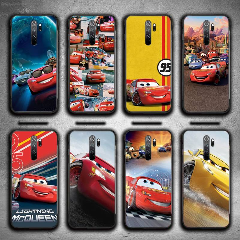 Lightning Mcqueen Soft Phone Case For Redmi 7 8 9 A K20 30 Pro Note 8 9 Pro 9s