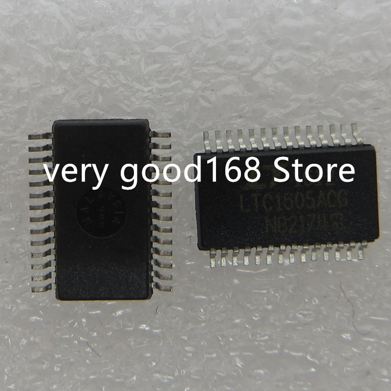 شحن مجاني 5 قطعة/الوحدة LTC1605ACG LTC1605AC LTC1605A LTC1605 SSOP-28