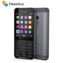 Débloqué dorigine NOKIA 230 double Sim Version téléphone GSM bonne qualité téléphone portable remis à neuf et hébreu arabe russe clavier