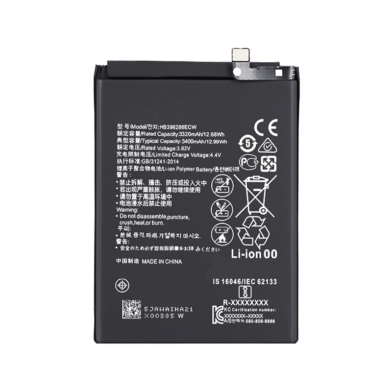 Internal battery for Huawei P Smart 2019 Pot-Lx1 - Mpn Original Hb396286Ecw enlarge