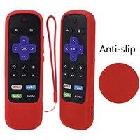 Защитный чехол для TCL Roku TV Stick 3600R 3800/3900 удаленный Силиконовый Чехол ударопрочный кожаный контроллер Противоскользящий