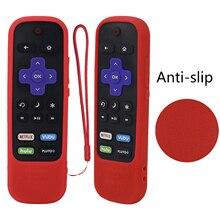 Custodia protettiva per TCL Roku TV Stick per cottura a vapore 3600R 3800/3900 copertura in Silicone remota Controller antiurto pelle antiscivolo