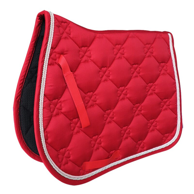 2020 Newest Horse Saddle Pad Horse Riding Saddle Cushion  Horse Accessory Breathable Performance Equipment Saddle Cover Hot Sale aoud saddlery horse riding saddle pvc training saddle synthetic saddle endurance saddle with handle for safety color black brown