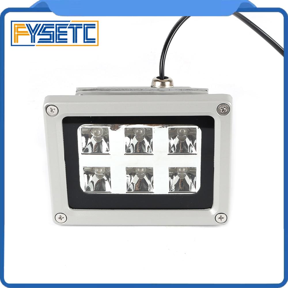High Quality 110-260V 405nm UV LED Resin Curing Light Lamp for SLA DLP 3D Printer Photosensitive Accessories Hot sale