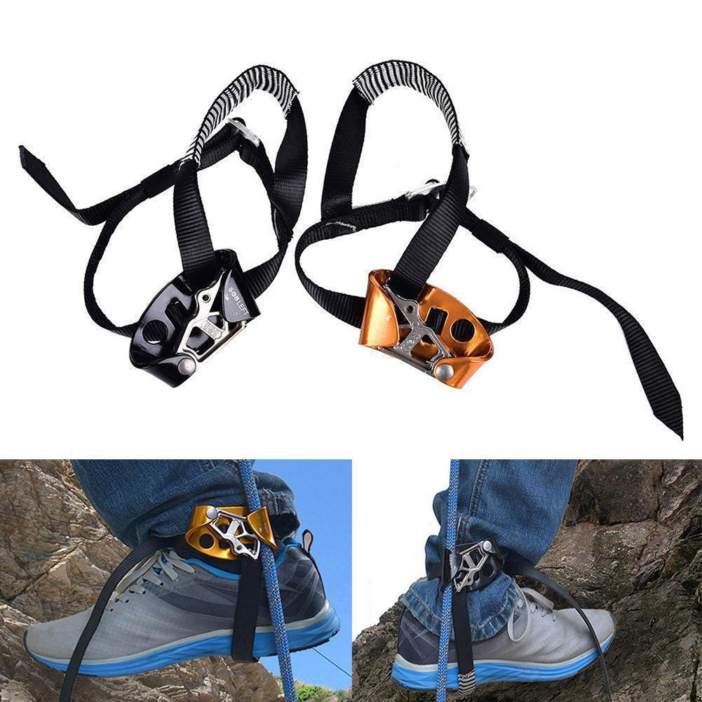 Adults Left Right Foot Ascender Tree Rigging Arborist Caving Safety Equipment Anti-dropping Protector Climbing Parts Accessories