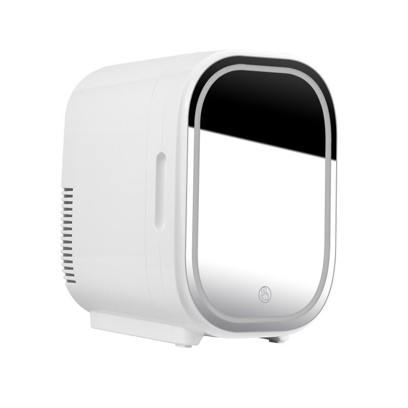 8L Mini Makeup Fridge Beauty Cosmetics Fridge Skin Care Goods Fridge Car Portable Refrigerator Freezer Cooler Warming Box
