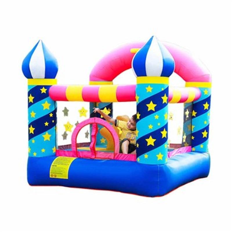 Castillo inflable para niños, parque Infantil para exteriores, tobogán para saltar rebotando,...