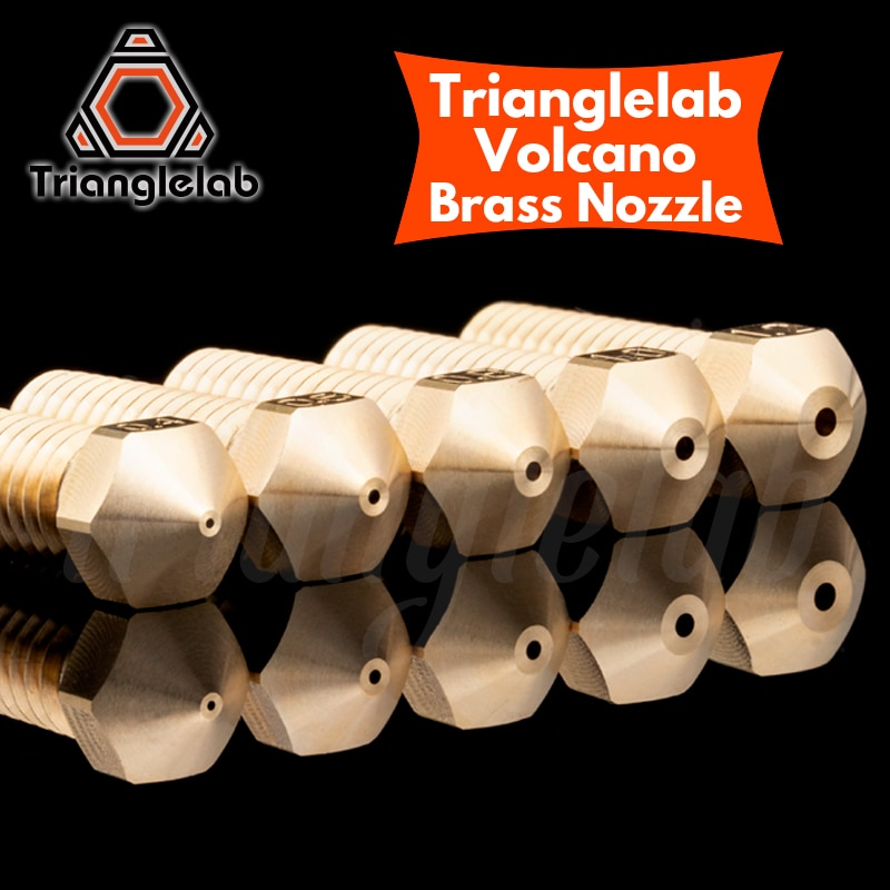 aliexpress.com - trianglelab T- Volcano Nozzle 1.75MM Large Flow High quality custom models for 3D printers hotend for E3D volcano hotend J-head