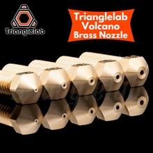 Trianglelab t-volcan buse 1.75MM grand débit haute qualité modèles personnalisés pour imprimantes 3D hotend pour E3D volcan hotend j-head