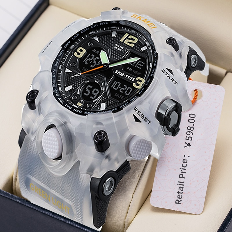 Mens Watches Fashion Sports Military Quartz Digital Waterproof Swim Stopwatch Wristwatches Clock Women Watch relogio masculino