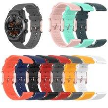 22mm pulseira de relógio de pulso para ticwatch pro/ticwatch pro2020/ticwatch gtx relógio inteligente acessórios
