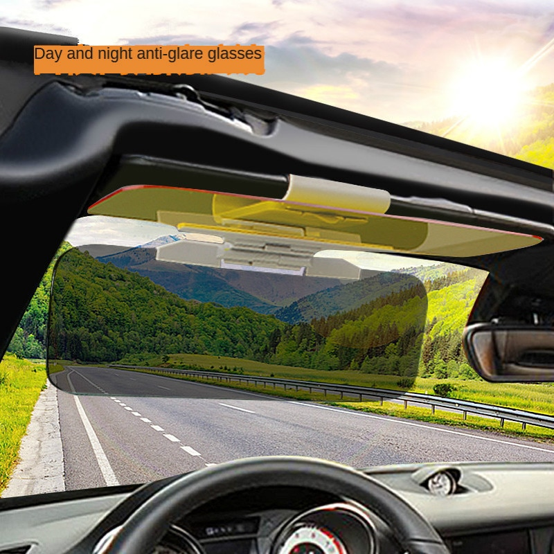 Driver Anti-glare Mirror Car Eye Protection Treasure Night Vision Goggles Car Universal Day And Night Anti-glare Mirror To Prote