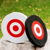 eva mobile archery target archery foam mobile target lightweight and durable round ring sticker