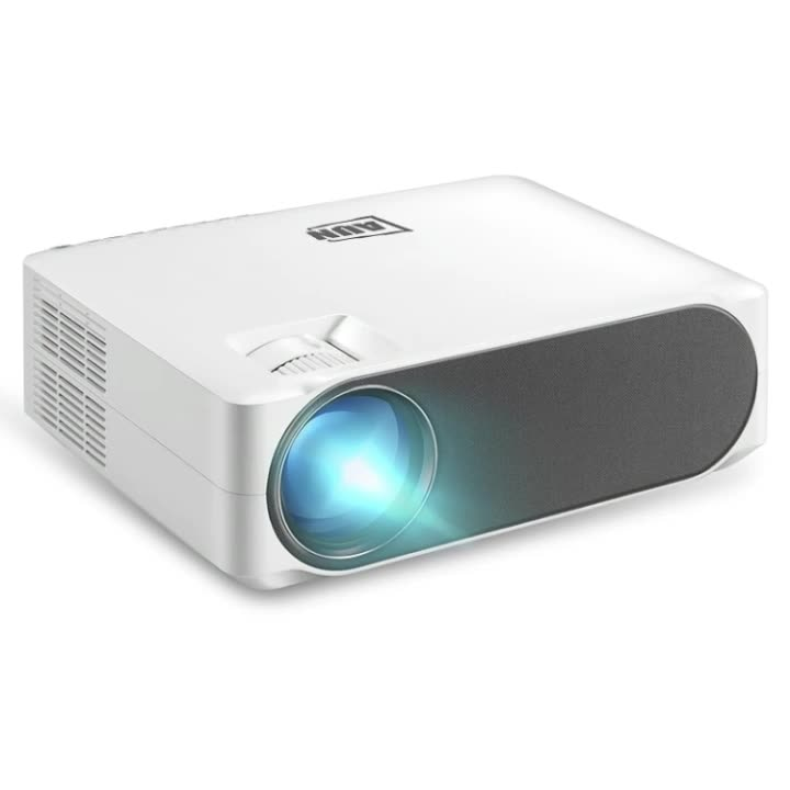 Original Portable AUN AKEY6S 5.8 inch 5500 Lumens 1920x1080P Android Full HD LED Projector