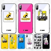 fashion brand xrange phone case for iphone 11 pro xr xs max 8 x 7 6s 6 plus tempered glass cove fundas