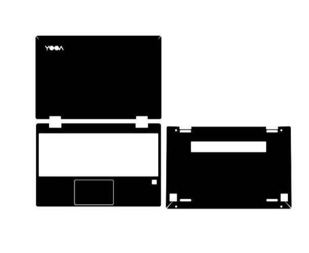 غطاء لاصق من الجلد الكربوني للكمبيوتر المحمول لينوفو يوغا 720-12/Miix 720/Miix 510/Miix 520/Yoga 900S-12/julion Y7000 15.6