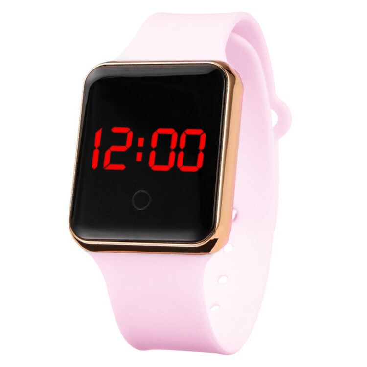 Women's Watches Digital Watch Men Kids Unisex Silicone Watchband Fashion Sport Electronic LED Clock