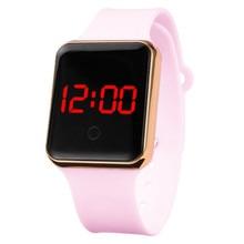 Women's Watches Digital Watch Men Kids Unisex Silicone Watchband Fashion Sport Electronic LED Clock