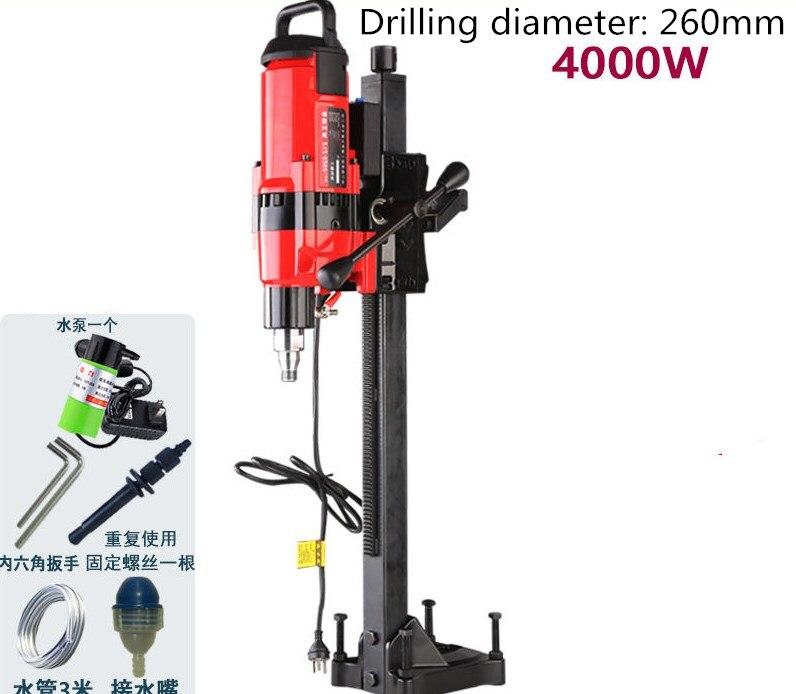 Z1Z-8260 عالية الطاقة المهنية آلة حفر مياه جوفية الماس أداة الحفر عالية الجودة الهندسة آلة الحفر اللكم