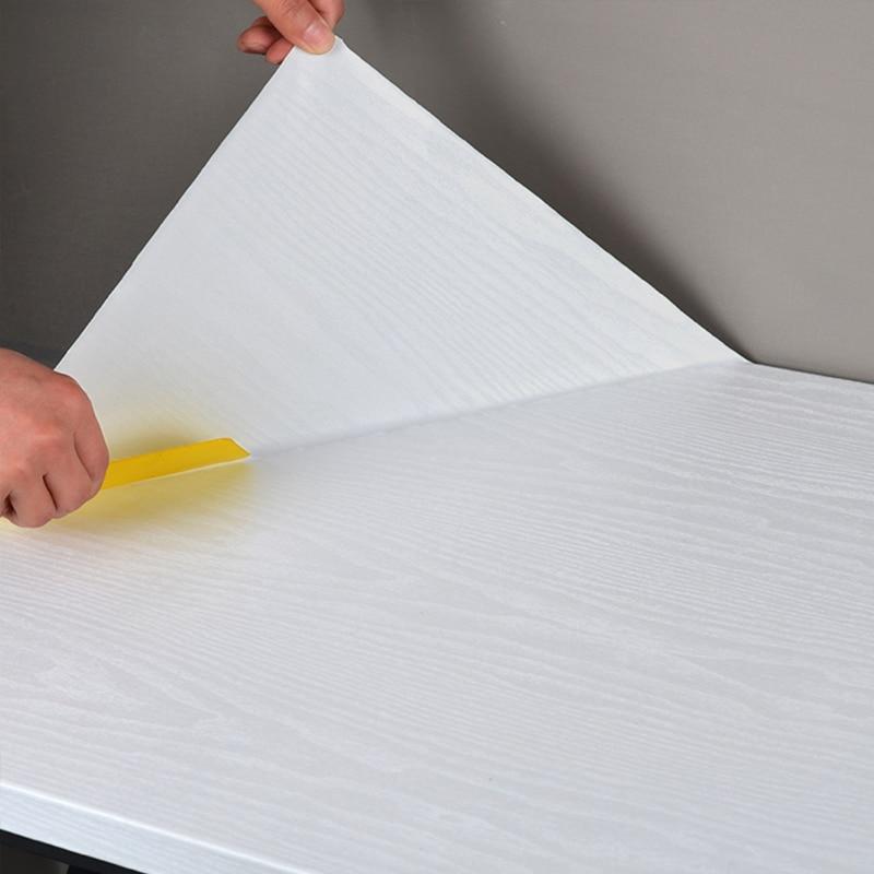 wallpaper cabinet furniture wood fiber wallpaperblack wood matt furniture stickers  boeing film pvc adhesive paper back vinyl pvc vinyl kitchen cabinet lh pv077