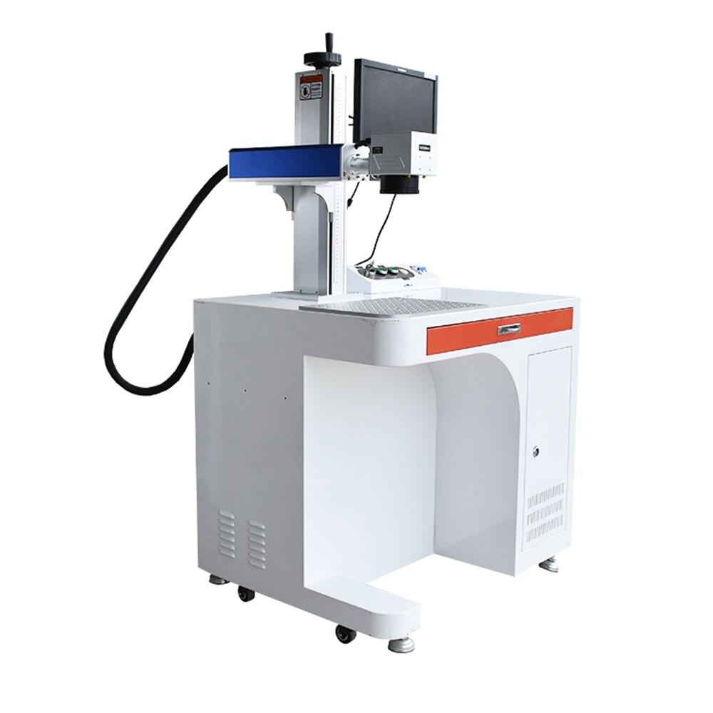 Puede auditar la fábrica, marcador láser de pared, 100w, láser de fibra co2, marcador láser de fibra rápida