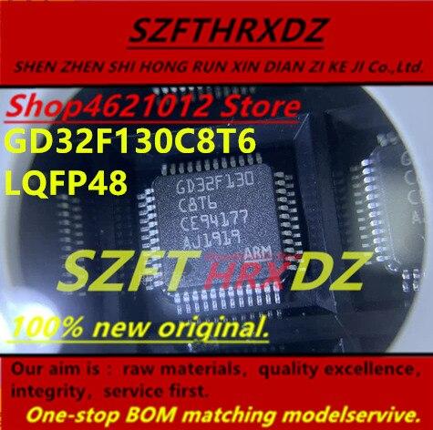 SZFTHRXDZ 100% new original 2019+ (5PCS-10PCS) GD32F130C8T6 GD32F130 C8T6 LQFP48