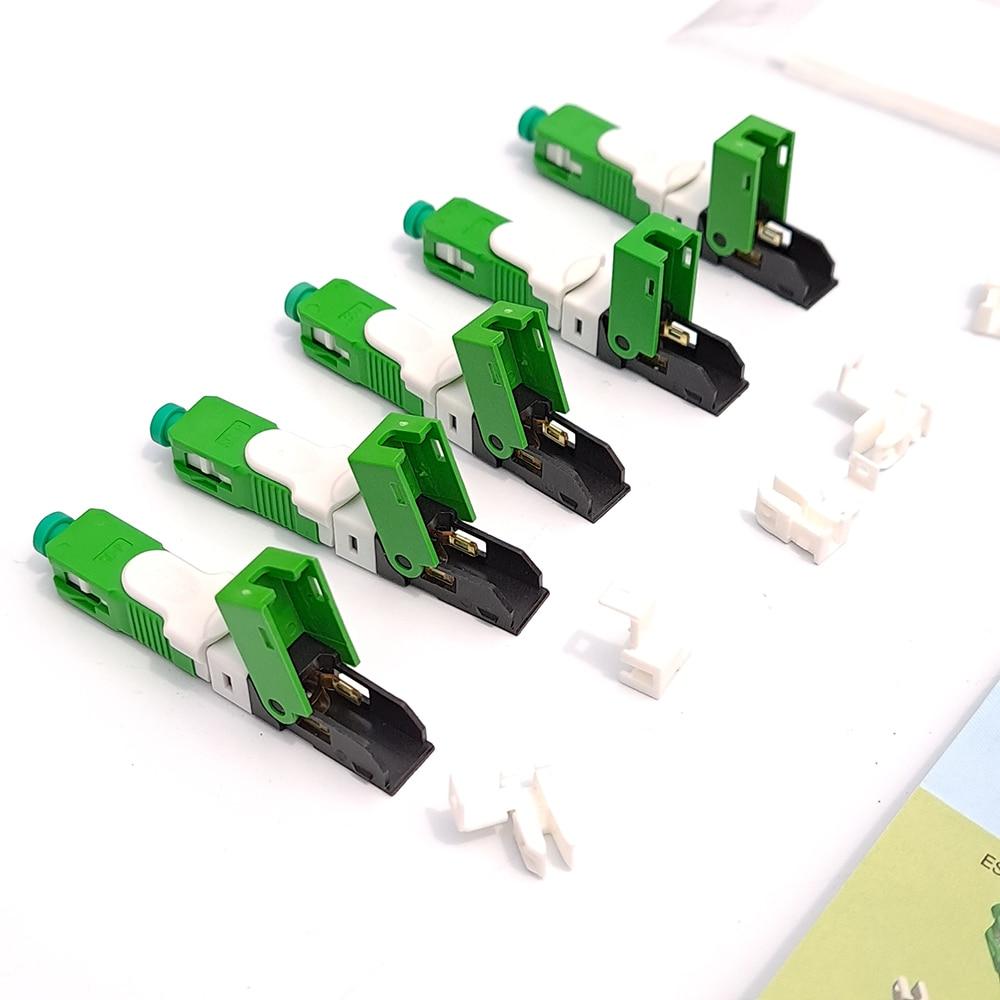 UNIKIT بالجملة 100 200 قطعة/الوحدة imag250d SC APC SM وضع واحد الألياف البصرية موصل سريع نموذج جديد سريع FTTH شحن مجاني