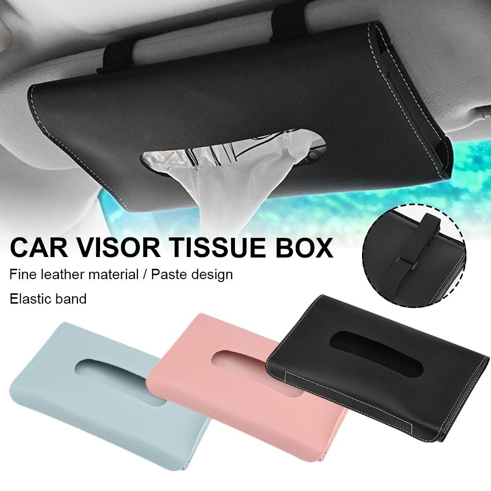 Универсальная автомобильная коробка для салфеток, автомобильный держатель для солнцезащитного козырька, держатель для салфеток, автомоби...