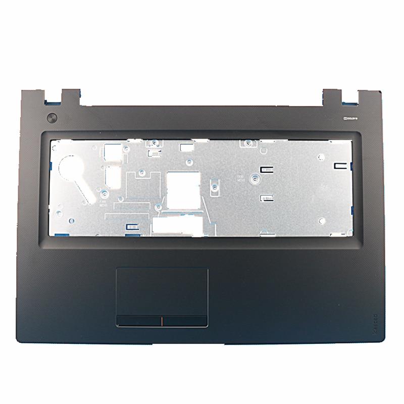 GZEELE الجديد لينوفو ل IdeaPad 300-17 300-17ISK Palmrest العلوي لوحة المفاتيح غطاء الحافة
