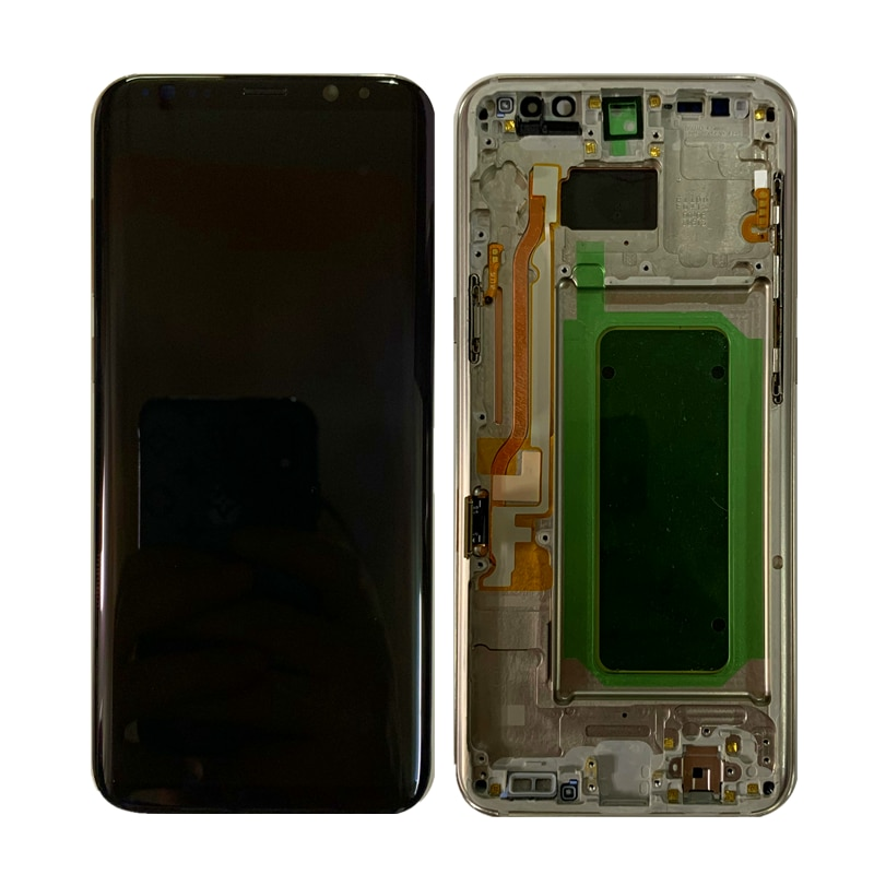 Original AMOLED Display For SAMSUNG Galaxy S8 S8+ NOTE8 S8 PLUS LCD G950F G955F N950F Display Touch Screen Replacement Parts enlarge