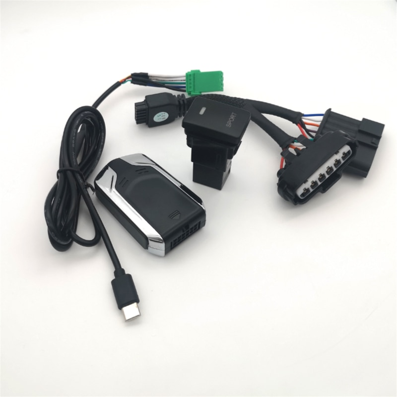 Автомобильный контроллер дроссельной заслонки powerbox, для toyota anahtar corolla, с одним ключом управления, для спортивного поворота