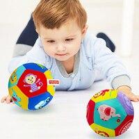 Детские игрушки 0-12 месяцев, мяч в виде животного, мягкие плюшевые детские мобильные игрушки со звуком, детская погремушка, мяч для бодибилди...